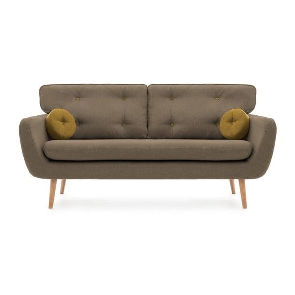 Canapea cu 3 locuri Vivonia Malva, bej