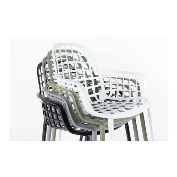 Sada 2 bílých židlí Zuiver Albert Kuip Garden
