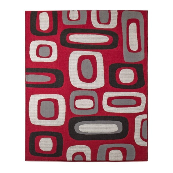 Koberec Hanse Home Hamla Willy Red, 120 x 170 cm