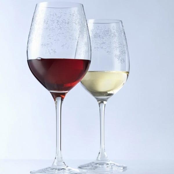 Sada 6 sklenic na červené víno LEONARDO Chateau, 510 ml