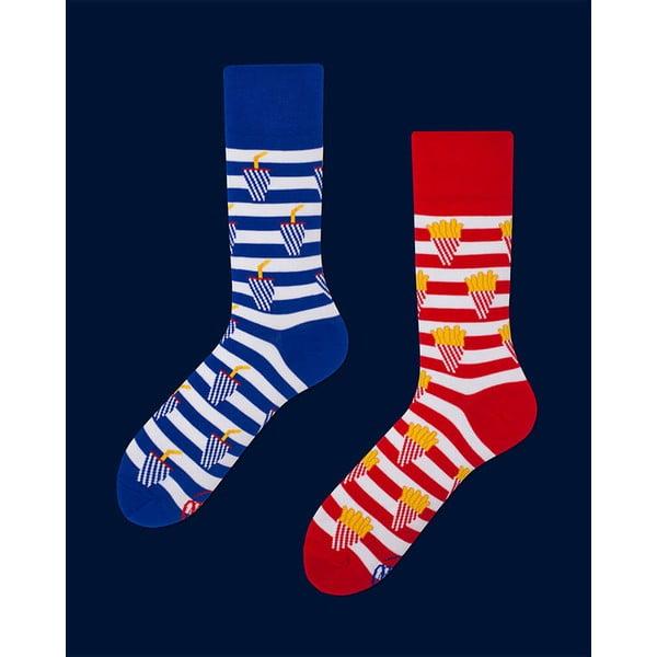Ponožky Many Mornings Fries And Soda, vel. 35/38