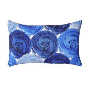 Pernă Ixia Roses, 50 x 30 cm, albastru