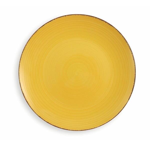 6dílná sada talířů Villa d'Este Giallo