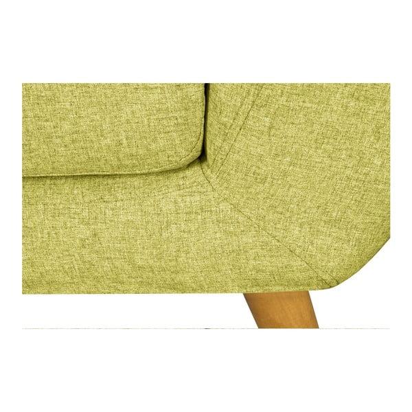 Canapea pentru 2 persoane Helga Interiors Oslo, galben
