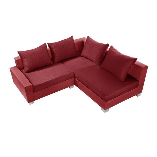 Červená sedačka Interieur De Famille Paris Aventure, pravý roh