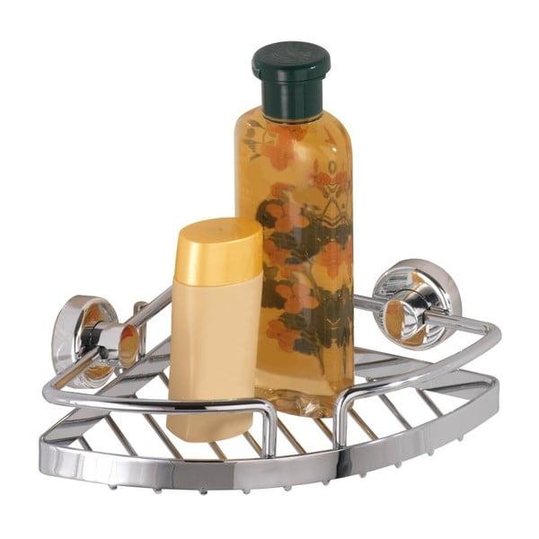 Samodržící malá rohová police na kosmetiku Wenko Power-Loc Sion