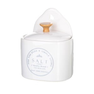 Kameninová dóza na sůl Unimasa Pure Living