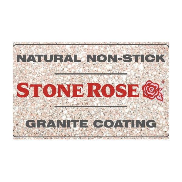 Pánev Bisetti Stonerose Rose, ø 24 cm