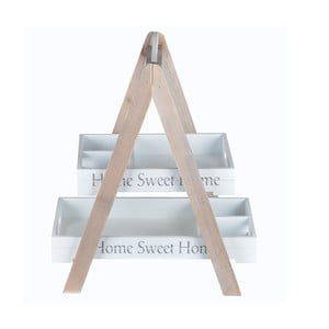 Dřevěný stojan Home Sweet Home