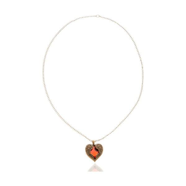 Dámský náhrdelník ve červené barvě NOMA Abbie