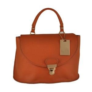 Oranžová kožená kabelka Matilde Costa Olivos