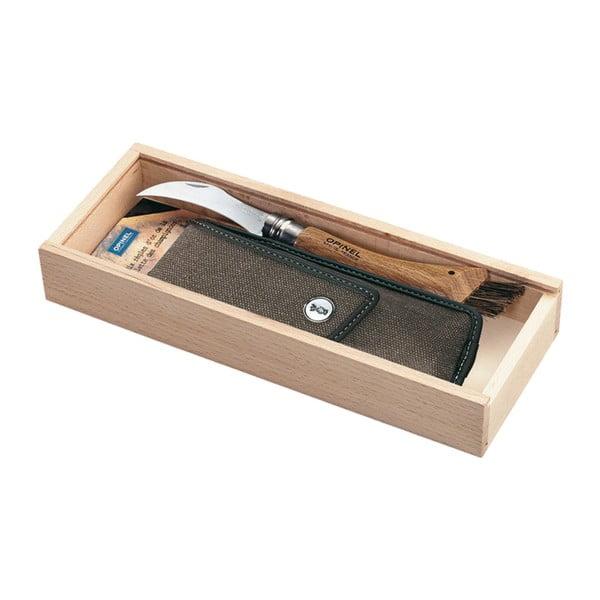 Dárkový set - houbařský nůž no.8 a pouzdro
