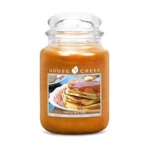 Vonná svíčka ve skleněné dóze Goose Creek Javorové máslo, 0,68 kg