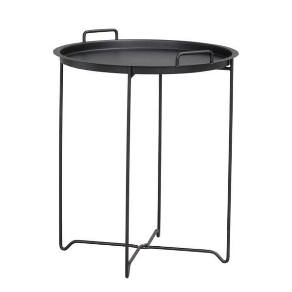 Černý příruční stolek Folke Oder