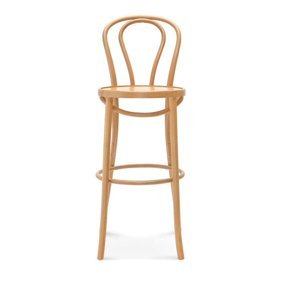 Barová dřevěná židle Jenis