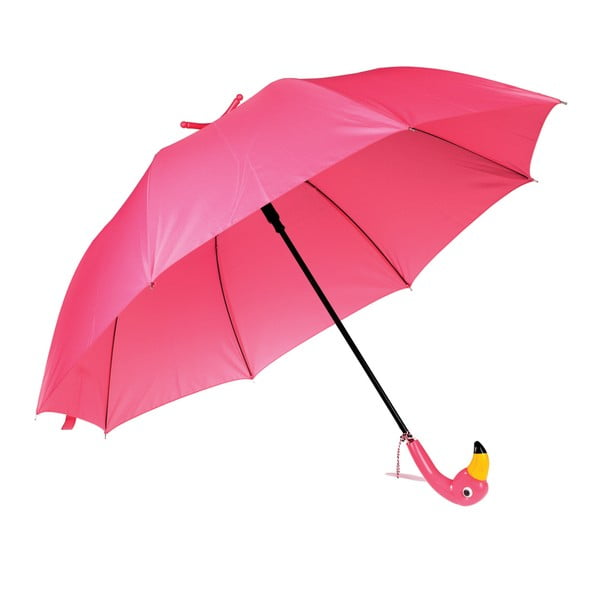 Umbrelă Rex London Flamingo, ⌀ 86 cm, roz