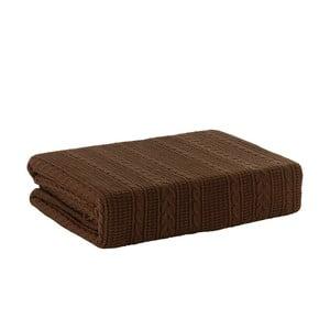 Pletená deka Chocolate, 220x240 cm