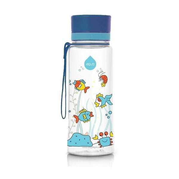 Sticlă Equa Equarium, 400 ml, albastru