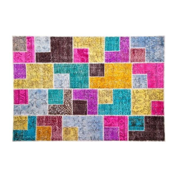 Vlněný koberec Allmode Box, 180x120 cm