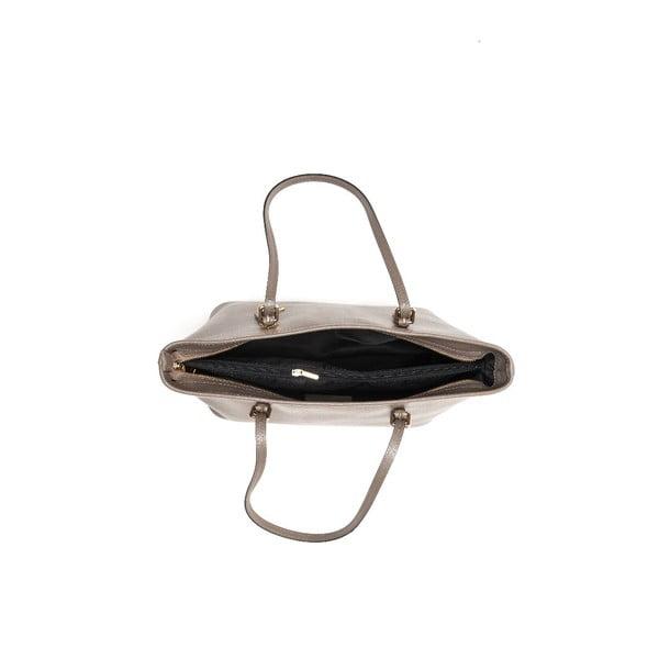 Kožená kabelka Renata Corsi 433 Fango