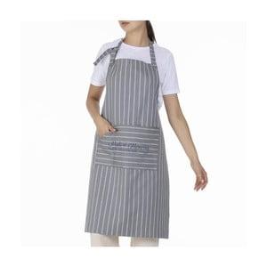 Šedá bavlněná zástěra Bella Maison Chef