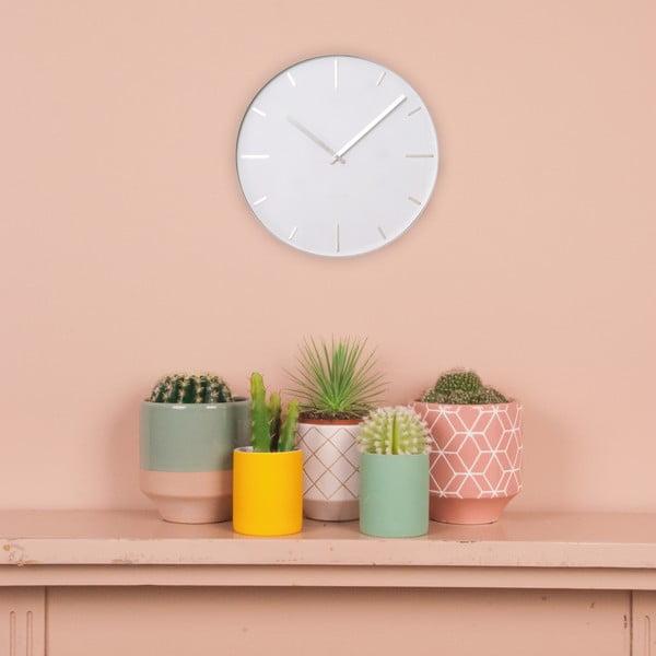 Bílé hodiny Present Time Belt