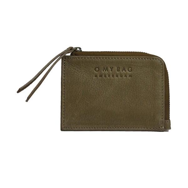 Kožená peněženka na drobné Coin, nude