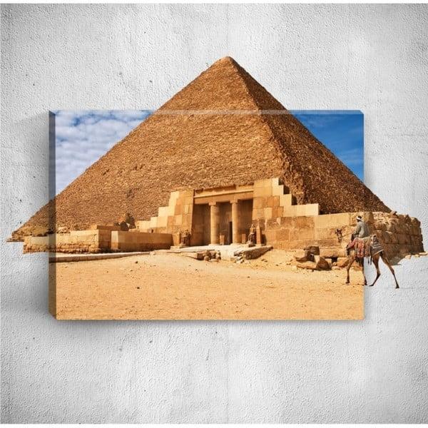 Nástěnný 3D obraz Mosticx Pyramid, 40 x 60 cm