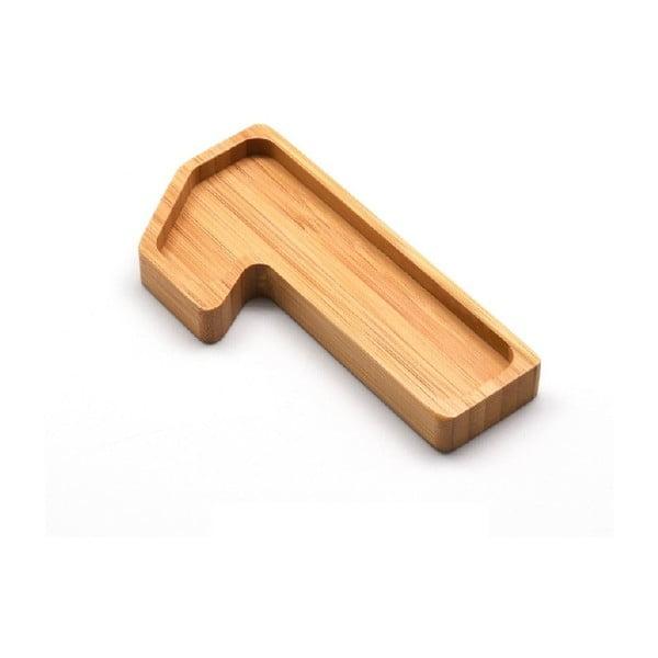 Bambusový servírovací talířek Bambum Numero One