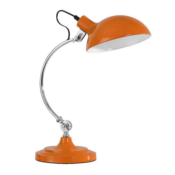 Stolní lampa Orange Chrome