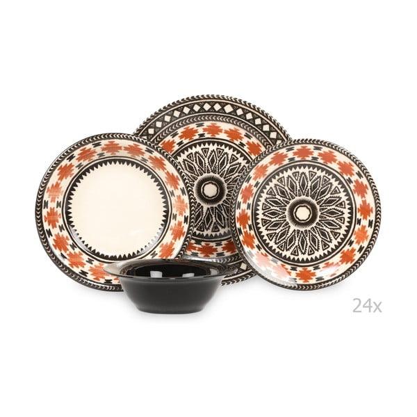 24-dielna sada porcelánového riadu Kutahya Pafio