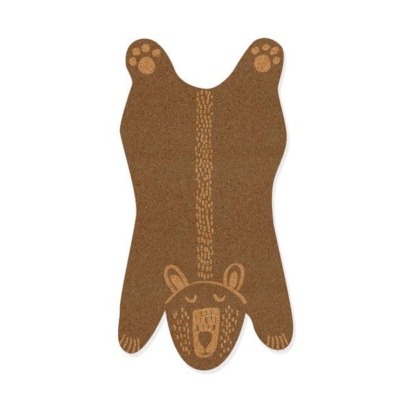 Medveformájú parafa üzenőfal - Little Nice Things