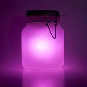 Solární dobíjecí lampička Suck UK Sunjar, růžová