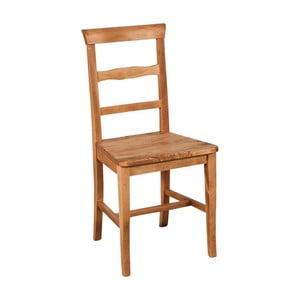 Tmavě hnědá židle z bukového masivu Biscottini Addy