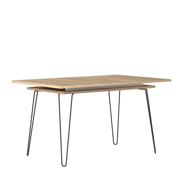 Jasnobrązowy stół rozkładany TemaHome Aero