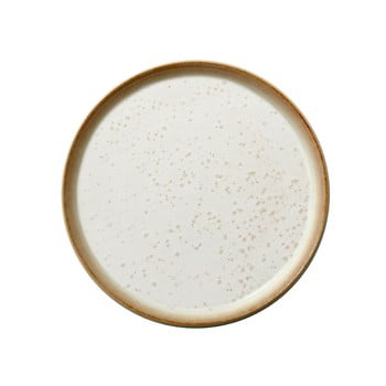 Farfurie din gresie ceramică Bitz Basics Cream, ⌀ 21 cm, crem