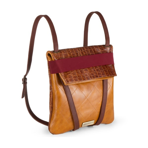 Kožený oboustranný batoh Maria Maleta Classic