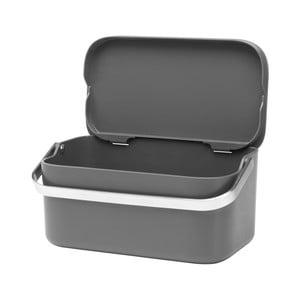 Cutie pentru deșeuri de bucătărie Brabantia Compost, gri