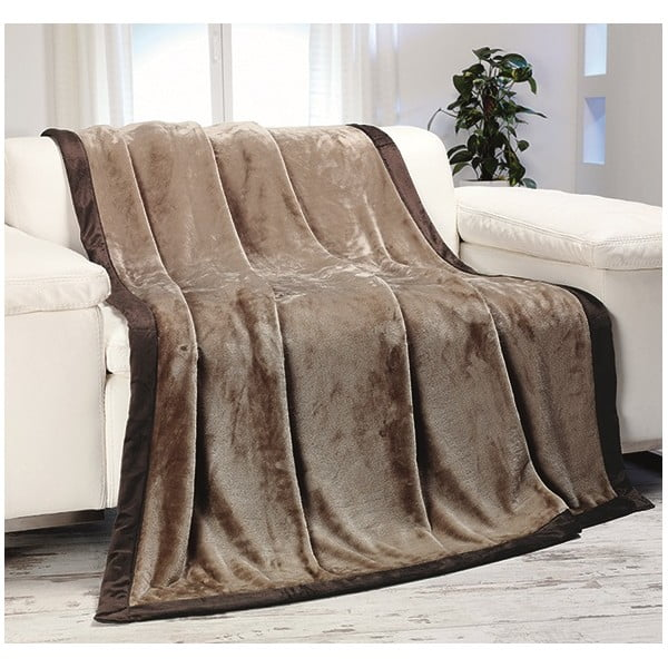 Deka Cuddly Brown, 150x200 cm