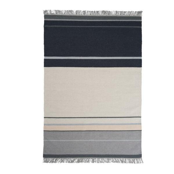 Vlněný koberec Metallum Granite, 80x150cm