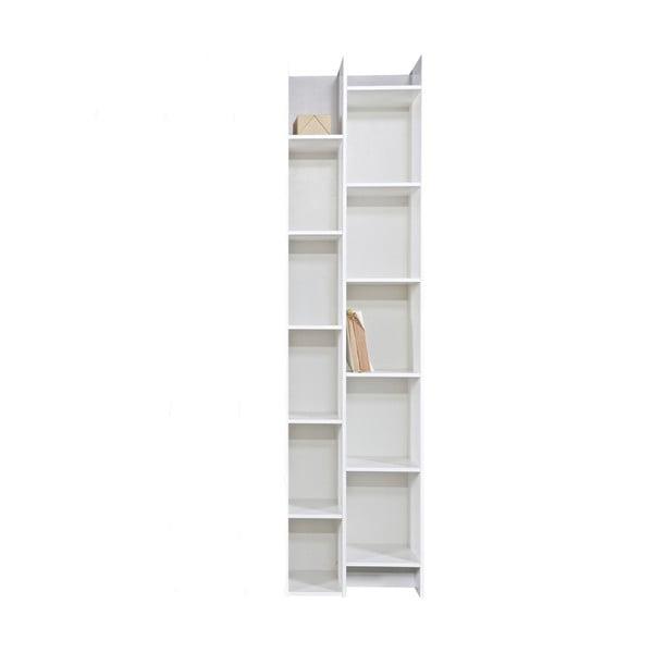 Bílý přídavný modul ke knihovně WOOOD Grenen