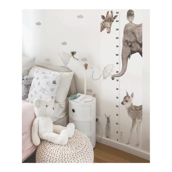 Nástěnná samolepka Dekornik I Love Animals, 60x160cm