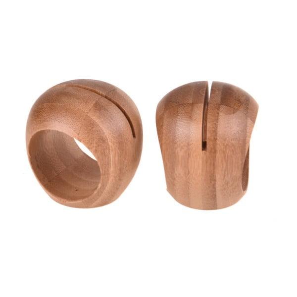 Dixon 2 db bambusz szalvétagyűrű - Bambum