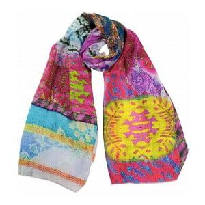 Šátek s příměsí hedvábí Shirin Sehan - Camille