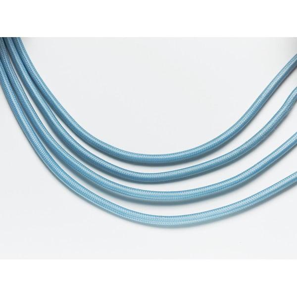 Set závěsného kabelu Drop Cap Blue a úsporné žárovky Plumen