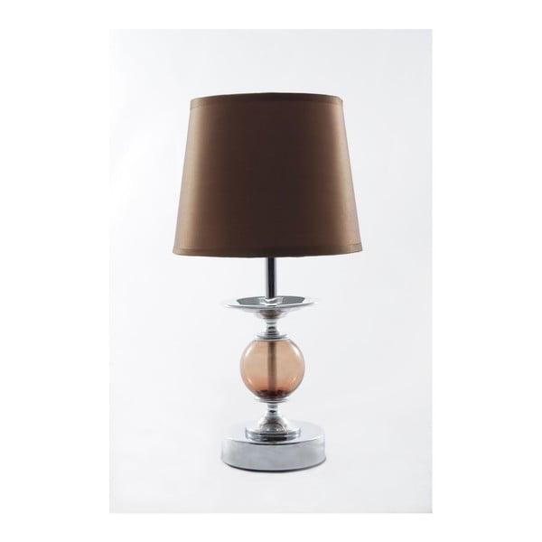 Stolní lampa Glamour Caramel, 32,5 cm