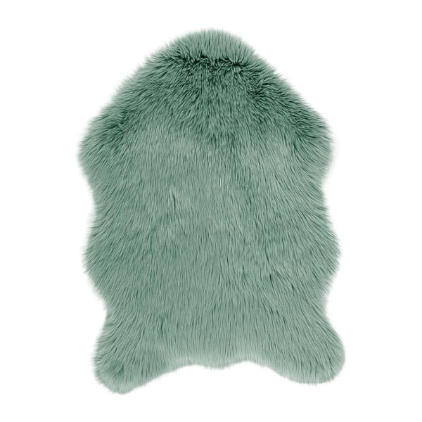 Blană artificială Tiseco Home Studio Sheepskin, 60 x 90 cm, verde