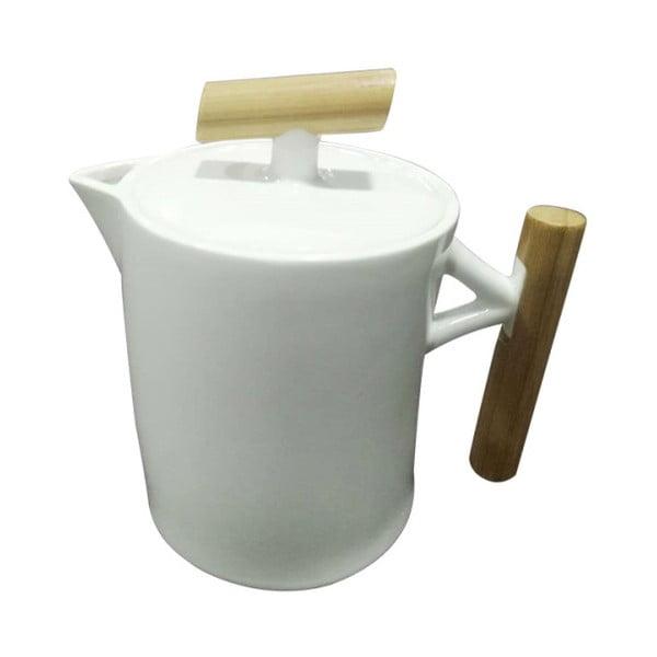 Porcelanowy dzbanek do herbaty z bambusowymi uchwytami Bambum Potta
