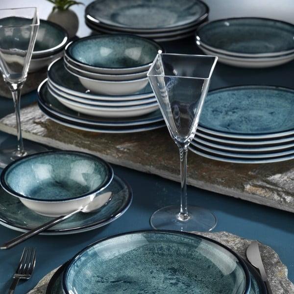 24dílná sada porcelánového nádobí Kutahya Mulio