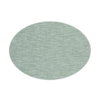 Suport pentru farfurie Tiseco Home Studio Oval, 46 x 33 cm, verde imagine